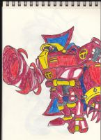 Omega as Red Tornado by gizmo01