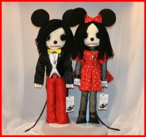 Mickey and Minnie Mouse 1263 by Zosomoto