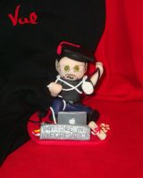 Degree cake topper by Valkyrie-21