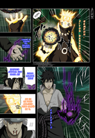Naruto 674 Naruto And Sasuke Vs Madara by IITheDarkness94II