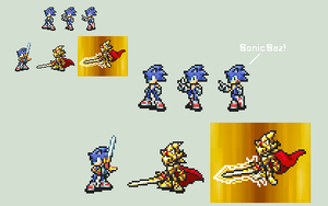 Sonic Fire Emblem Style by Gregarlink10