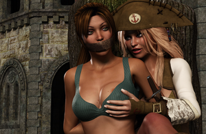 CAPTAIN ANNE: Fun with Lara by Furbs3D