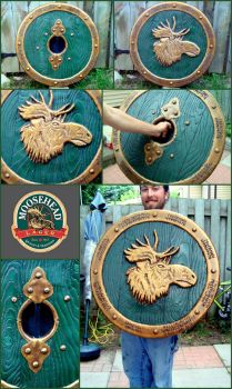 Moosehead Shield by Karsis