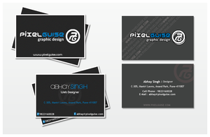 Business Cards - pixelGUISE by xmod