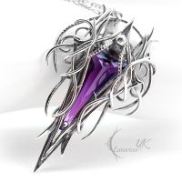 XATHARNAL - Silver and Amethyst. by LUNARIEEN
