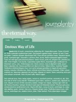 CSS Journal - the eternal way. by pookierawr