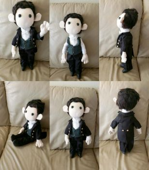 Andy Plushie by Kaxen6
