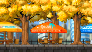 [MAP] Outdoor cafe by LuciferJ
