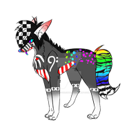 rainbow Auction CLOSED by HazeAdopts