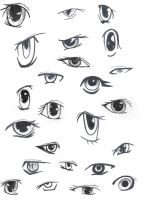 Anime Eyes by animegirlffx