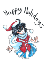 Happy Holidays 2014 by Jump-Button