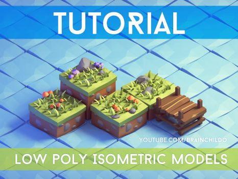 Isometric[Tutorial] - 3d Isometric Game Tiles - Lo by brainchilds
