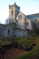 Culross Abbey and Ruins I by Beef-Stock