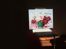 Painted Flowers by keillly