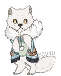 arctic fox by owllings