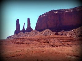 Monument Valley 6 by spidermonkeykiss