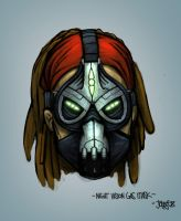 Night Vision Gas Mask by JOPPETTO