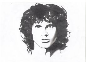 Jim Morrison by Trisstam