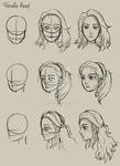 Female Head Practice by Leilani-kitty