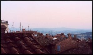 View from Perugia by psychogizmo