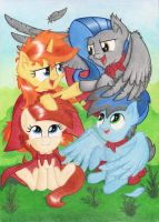 Cutie Art Crusaders by Agamnentzar