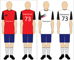 Football Uniforms of Primorye by kyuzoaoi