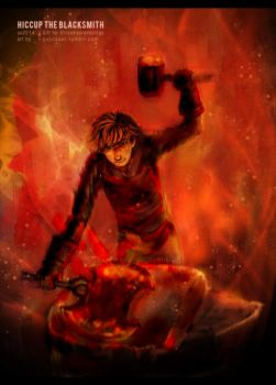 Hiccup the Blacksmith by yuCCaOcxl