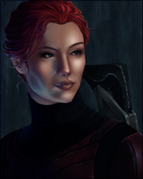 ME1 Shepard. by skin-dancer