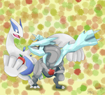 Lugia and Kyurem :3 by javierini