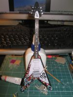 Jimi Hendrix's Gibson Flying V by BHAAD