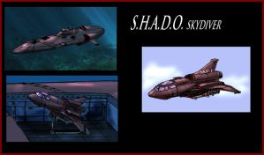SHADO Skydiver by Andared