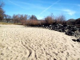 Lines In The Sand. by snickydoodle