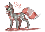 Frigg doodle by sinnocturnal
