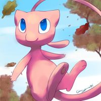 Autumn mew by Pand-ASS