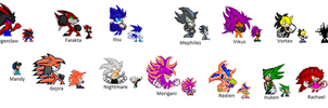 Tournament Entries by DarkraitheHedgehog12