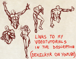 Quick Random Detailed Poses by Dex91