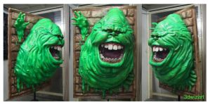 Ghostbuster Slimer 3D Wall Deco 2 by FUVL