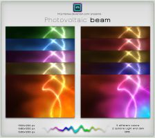 Photovoltaic beam pack by LeMex