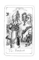 FFIX Tarot : 5 The Hierophant by sugerplumfairygirl