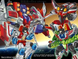 All for starscream by firestorm33