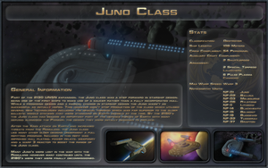 Juno Class Spec Sheet by Majestic-MSFC