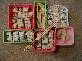 Bento for Akon 23 by aya-arollinggirl