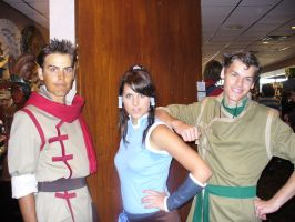 Maka, Bolin, and Korra by TheWildeOne