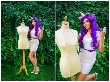 Rarity . MLP by LeonorGracias