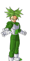 Bro Trunks second form by RobertoVile