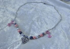 Sweetheart Spiral Necklace by Alicat59