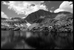a lot of lake and mountain by MrDanny
