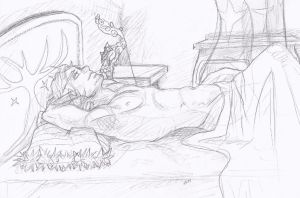 A Relaxing Moment by TReddy