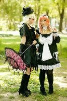 ...Maid and Gothic Lolita... by LoveAsia