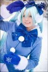 Vocaloid - Snow Miku by SharyNyanko